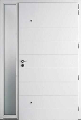 Porte d 39 entr e contemporaine bel 39 m en alu sur vitrolles for Porte interieur ketch