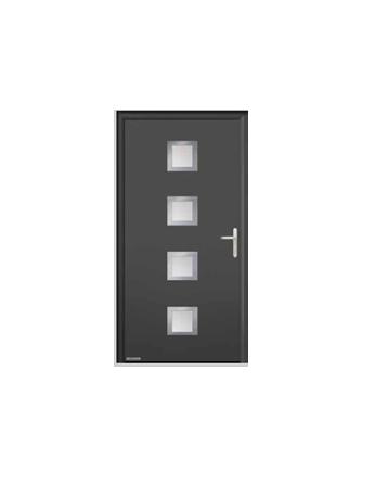 Porte d 39 entree hormann thp 800 vitrolles vente pose - Porte d entree hormann ...