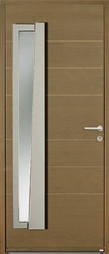 Votre porte d 39 entr e en bois contemporaine bel 39 m sur for Porte de garage bel m