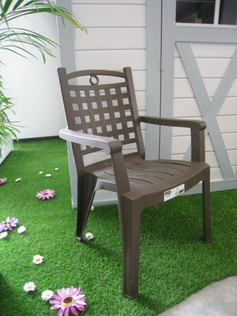 fauteuil pvc jardin grosfillex modele bora 1 bronze installateur fen tres grosfillex marignane. Black Bedroom Furniture Sets. Home Design Ideas