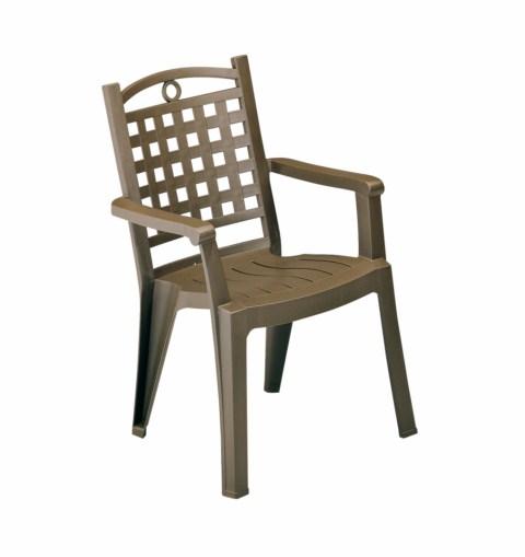 fauteuil pvc jardin grosfillex modele bora 1 bronze installateur fen tres grosfillex marignane. Black Bedroom Furniture Sets. Home Design Ideas