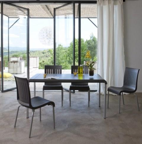 TABLE de jardin PVC GROSFILLEX Modele Alice G2 Blanc dans ...