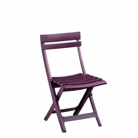 chaise pvc jardin grosfillex modele miami pliante aubergine d partement 13 ce produit n 39 est. Black Bedroom Furniture Sets. Home Design Ideas