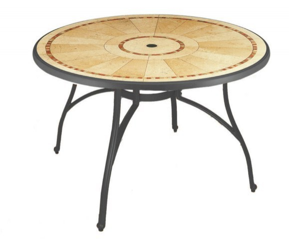 TABLE de jardin PVC Grosfillex Modèle Louisiana 122cm région PACA ...