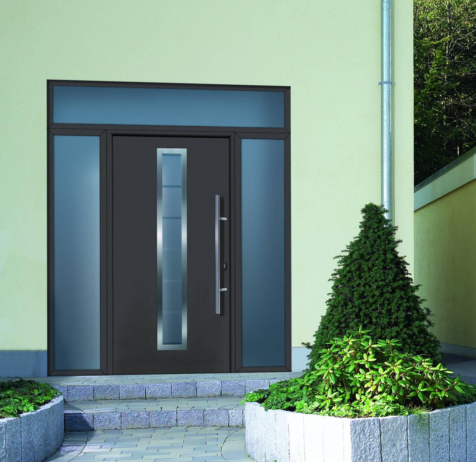 portes d 39 entr e acier thermopro h rmann sur vitrolles vente pose et r novation de portes d. Black Bedroom Furniture Sets. Home Design Ideas