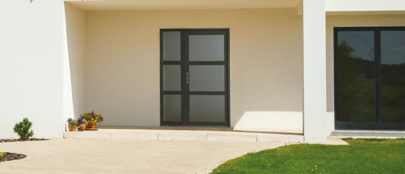 porte d 39 entr e alu pas ch re sur martigues sarl bernard. Black Bedroom Furniture Sets. Home Design Ideas