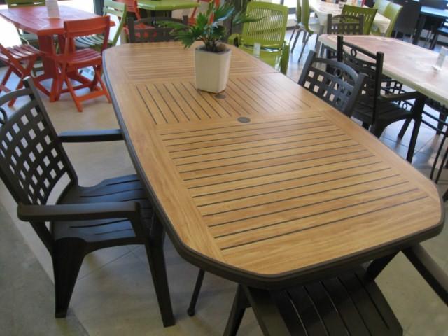 Table De Jardin Pvc Grosfillex Modele Orlando Marignane