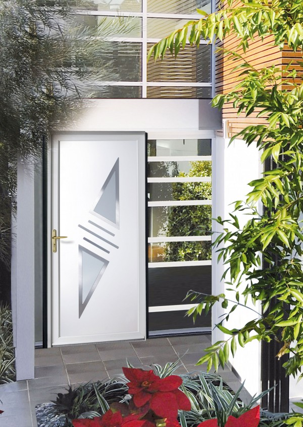 prix d 39 une porte d 39 entr e en pvc vitrolles sarl bernard grosfillex. Black Bedroom Furniture Sets. Home Design Ideas