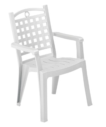 Fauteuil pvc jardin grosfillex modele bora blanc marignane - Garde meuble villeneuve loubet ...